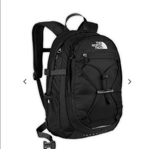 The North Face black Isabella backpack